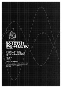 Noise Test: UVB-76 Music Takeover II at The Island in Bristol