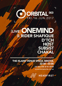 Orbital 003 at The Island in Bristol