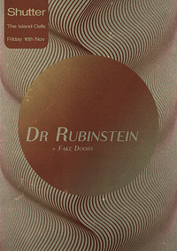 Shutter w/ Dr Rubinstein at The Island in Bristol