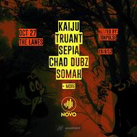 Novo Presents: KAIJU, TRUANT, SEPIA, SOMAH + MORE at The Lanes in Bristol