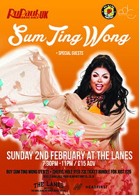 SUM TING WONG (RU PAUL'S DRAG RACE UK) at The Lanes in Bristol