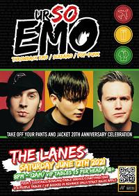 Ur So Emo - TOYPAJ 20th Anniversary Celebration  at The Lanes in Bristol
