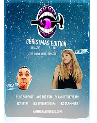 Hammer & Tongue ft. Liv Torc, Spikey Tim + Support at The Loco Klub in Bristol