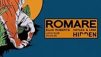 Hidden | Romare (Rescheduled due to COV-19) at The Loco Klub in Bristol