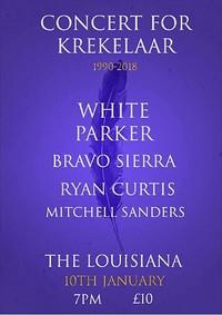 Concert For Krekelaar (1990-2018) at The Louisiana in Bristol