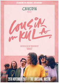 Cousin Kula, EP Launch // The Louisiana's 30th at The Louisiana in Bristol