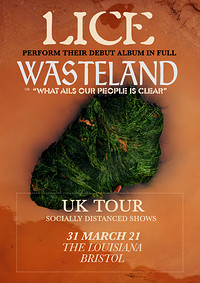 Lice (late show & live stream - 8pm doors) at The Louisiana in Bristol