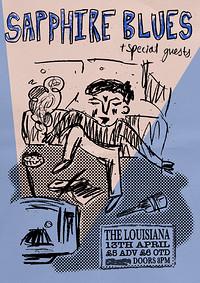 Sapphire Blues @ The Louisiana at The Louisiana in Bristol