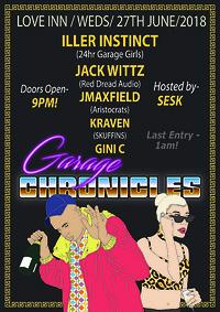 Garage Chronicles 003  at The Love Inn in Bristol