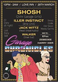 Garage Chronicles Entry (Chronicles Laun at The Love Inn in Bristol
