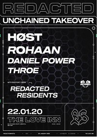 Redacted: 005 - Unchained Records Takeover at The Love Inn in Bristol