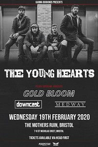 The Young Hearts + Gold Bloom at The Mothers Ruin in Bristol