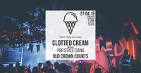 Clotted Cream Present: PBR Streetgang  at The Old Crown Courts in Bristol