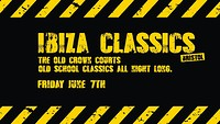 Ibiza Classics: The Bristol Old Crown Courts at The Old Crown Courts in Bristol