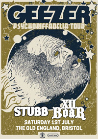 Geezer // Stubb // XII Boar at The Old England Pub in Bristol