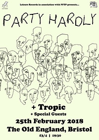 Leisure Recs: Party Hardly + Tropic at The Old England Pub in Bristol