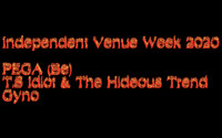 PEGA, T.S Idiot & The Hideous Trend, Gyno at The Old England Pub in Bristol
