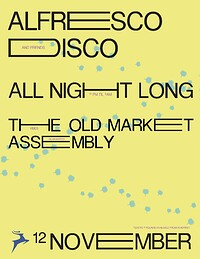 Alfresco Disco DJs at The Old Market Assembly at The Old Market Assembly in Bristol
