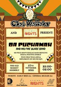 Chai Wallahs: Da Fuchaman & His Fire Blaze Band at The Old Market Assembly in Bristol