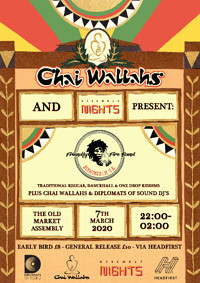 Chai Wallahs Presents: Friendly Fire Band  at The Old Market Assembly in Bristol