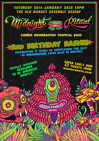 MIDNIGHT RITUAL 2ND BIRTHDAY BASH! at The Old Market Assembly in Bristol