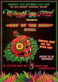 Midnight Ritual Day of the Dead Special at The Old Market Assembly in Bristol