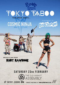 Punka Presents: Tokyo Taboo, Cosmic Ninja & guests at The Old Market Assembly in Bristol