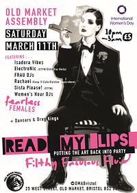 Read My Lips at The Old Market Assembly in Bristol