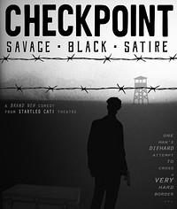 Checkpoint: A savage back comedy for our times at The Room Above, St Michael's Hill in Bristol