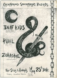 Deaf Kids, POHL, Zohastre at The Stag And Hounds in Bristol