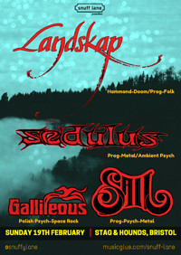 Landskap // Sedulus // Gallileous // Sail at The Stag And Hounds in Bristol