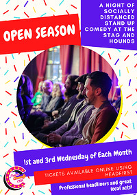Open Season Comedy Night at The Stag And Hounds in Bristol