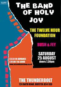 The Band of Holy Joy/The Twelve Hour Foundation at The Thunderbolt in Bristol