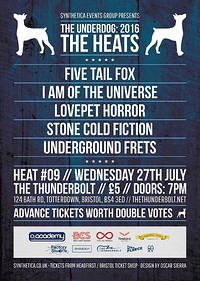 The Underdog: Heat Nine at The Thunderbolt in Bristol