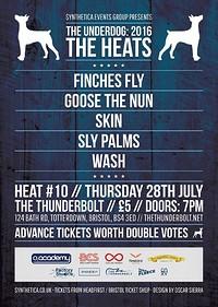 The Underdog: Heat Ten at The Thunderbolt in Bristol
