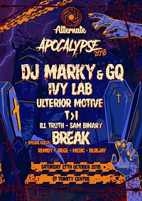 Alternate » Halloween Apocalypse 2018 at The Trinity Centre in Bristol