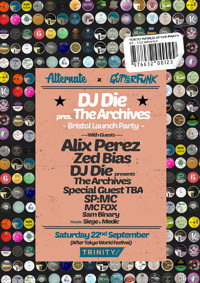 Alternate x GutterFunk » Die presents The Archives at The Trinity Centre in Bristol
