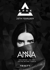 Apex Presents ANNA at The Trinity Centre in Bristol