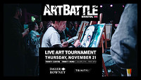 Art Battle November at The Trinity Centre in Bristol