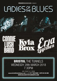 Ladies Of The Blues - UK Tour 2018  at The Tunnels in Bristol