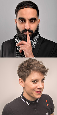 Tez Ilyas & Suzi Ruffell at The Wardrobe Theatre in Bristol