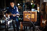 Guitar and Gimbri – Lifting Spirits at The Watershed in Bristol