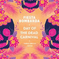 Fiesta Bombarda - Day of the Dead Carnival  at Thekla in Bristol