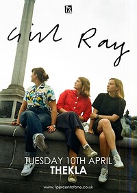 Girl Ray at Thekla in Bristol