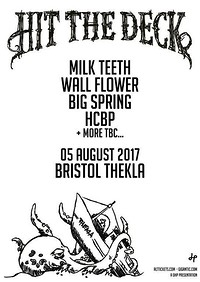 Hit The Deck All Dayer at Thekla in Bristol