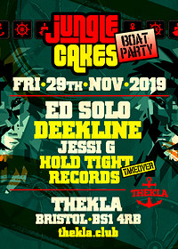 Jungle Cakes Boat Party  at Thekla in Bristol