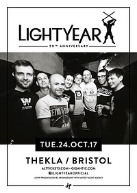 Lightyear 20th Anniversary Tour at Thekla in Bristol