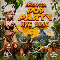 Prehistoric Pop Party - Pop Confessional NYE 2018 at Thekla in Bristol