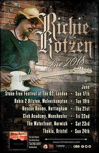 Richie Kotzen at Thekla in Bristol