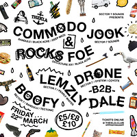 Sector 7 Sounds // Commodo + Rocks FOE at Thekla in Bristol
